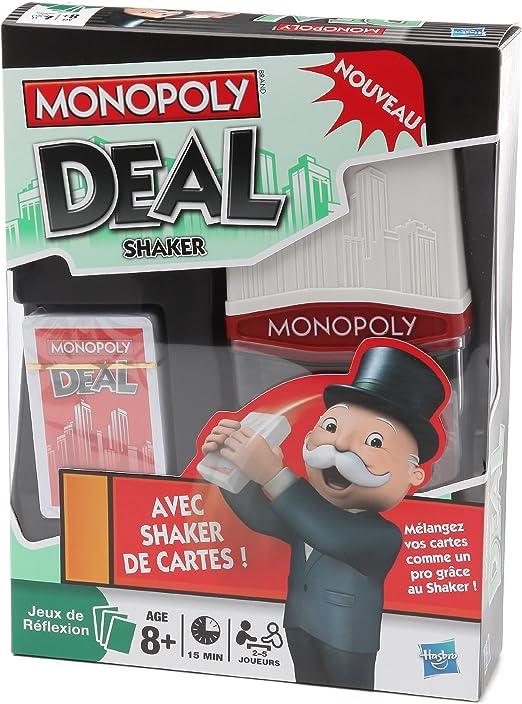 Parker Hasbro 17831010 – Juego de Cartas Monopoly Deal Shaker: Amazon.es: Juguetes y juegos