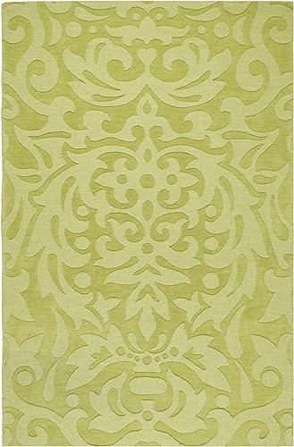 Surya Area Rug, 8 x 11 , Lime Green