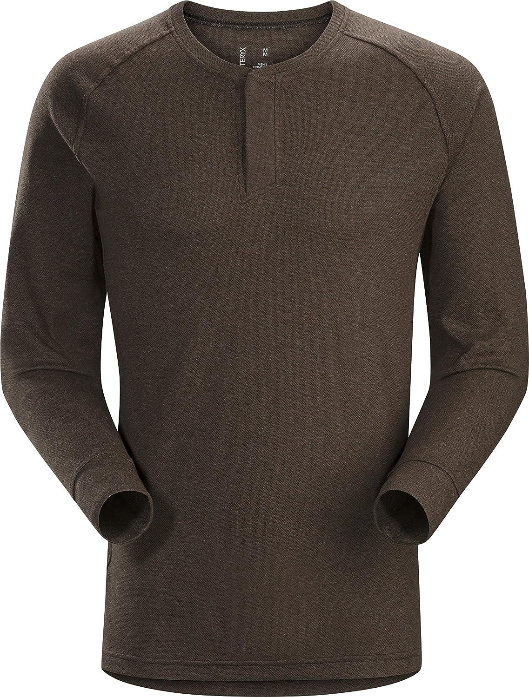 Arcteryx Sirrus Longsleeve Henley Shirt Men - Outdoorshirt