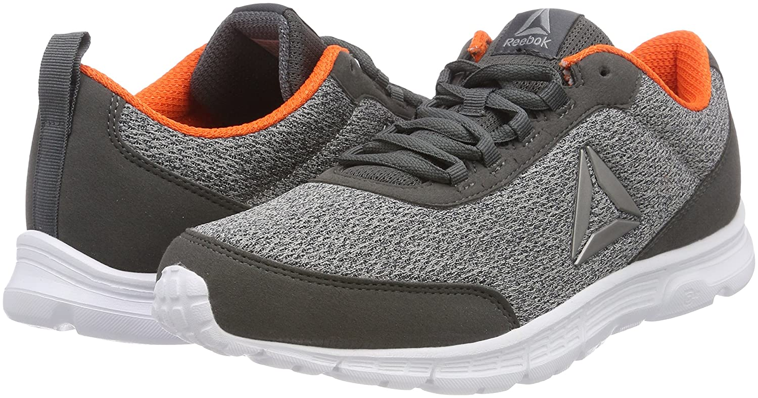 Reebok Men s Speedlux 3.0 Running Shoes Grey Black EU Grigio (Alloy Stark  Grey Bright Lava White Pew  Buy Online at Low Prices in India - Amazon.in 238a29fc9