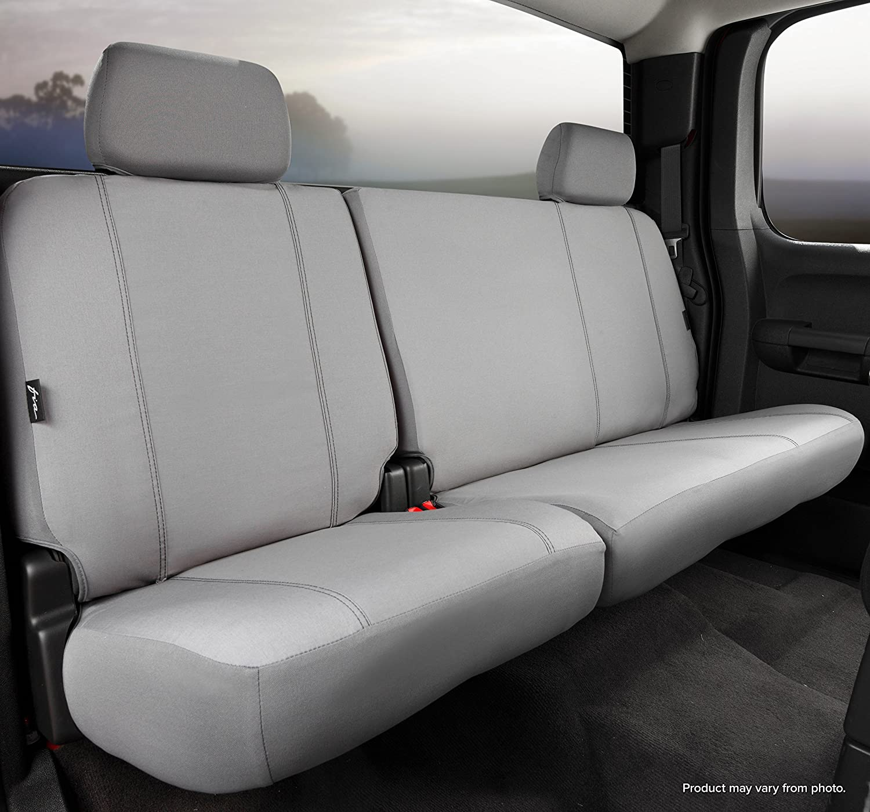 Poly-Cotton, Fia SP82-82 GRAY Custom Fit Rear Seat Cover Split Seat 40//60 Gray