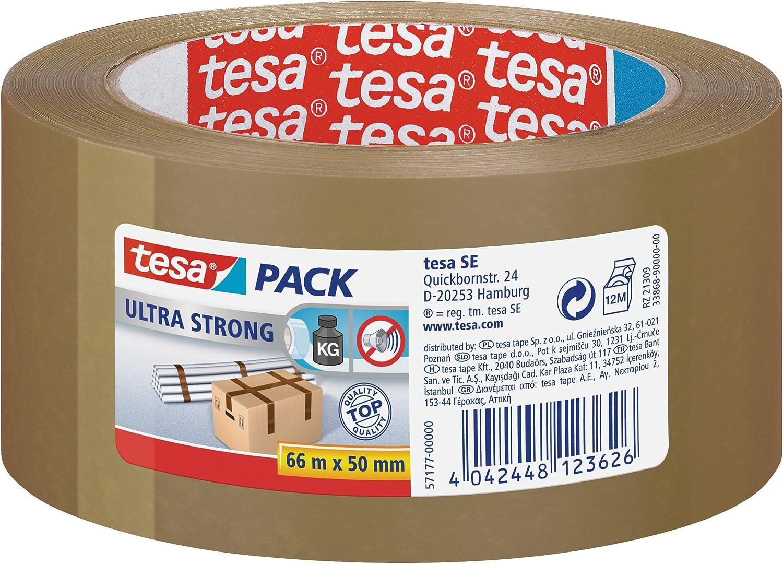 0,134 €//m tesa 4104 en couleur 25mm x 66m ruban adhésif d/'emballage