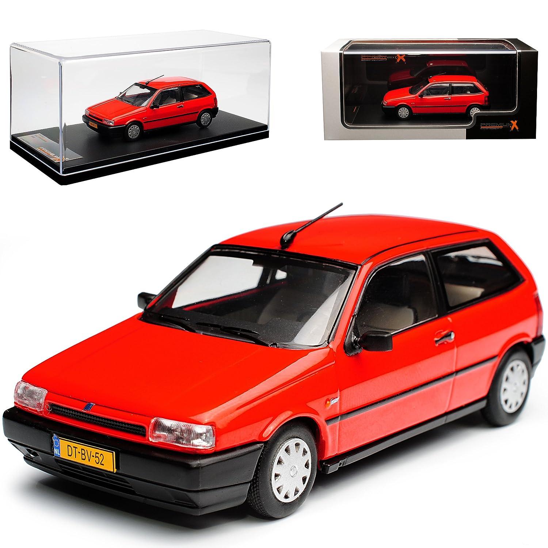 PremiumX FIAT Tipo Typ 160 3 Türer Rot 1. Generation 1988-1995 1 43 Modell Auto mit individiuellem Wunschkennzeichen B077GFHH1M Motorfahrzeuge Moderater Preis    2019