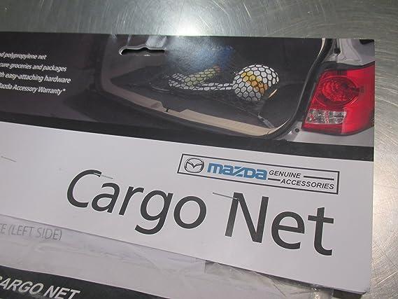 0000-8K-N11 2016 Mazda CX-9 Rear Side Cargo Nets OEM NEW