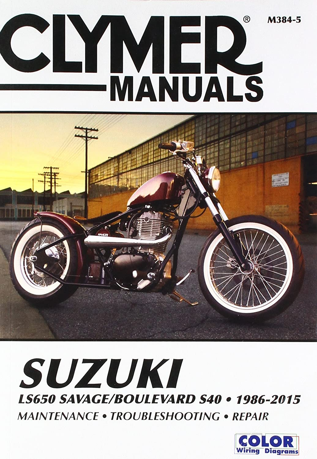 Amazon.com: Clymer Suzuki LS650 Savage Boulevard S40 (1986-2012): Automotive