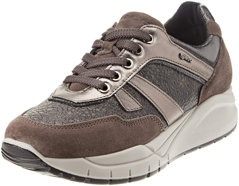 IGI&Co Dsa 21493, Zapatillas de Gimnasia para Mujer 36 EU|Gris (Grigioscuro 20)