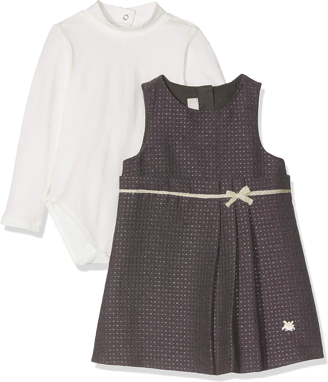 Chicco Baby-M/ädchen Competo Body Con Abito Senza Maniche Kleid