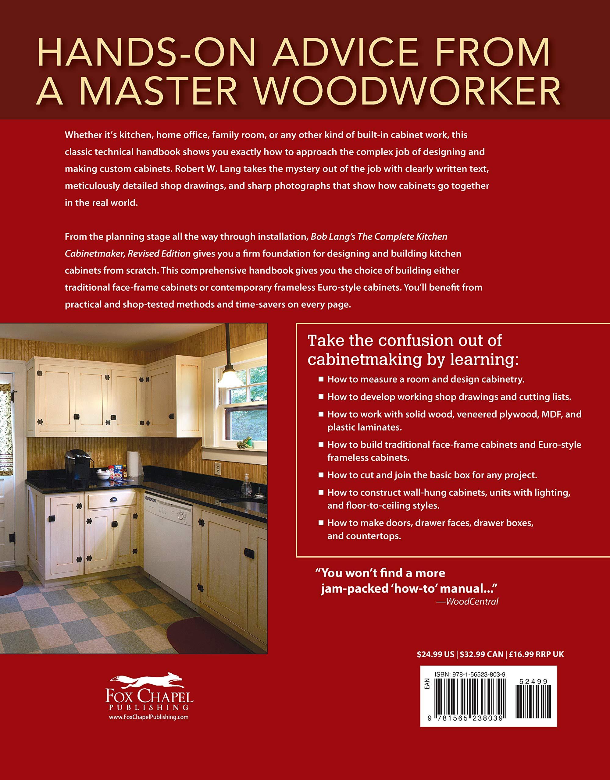 Bob Lang S The Complete Kitchen Cabinetmaker Revised