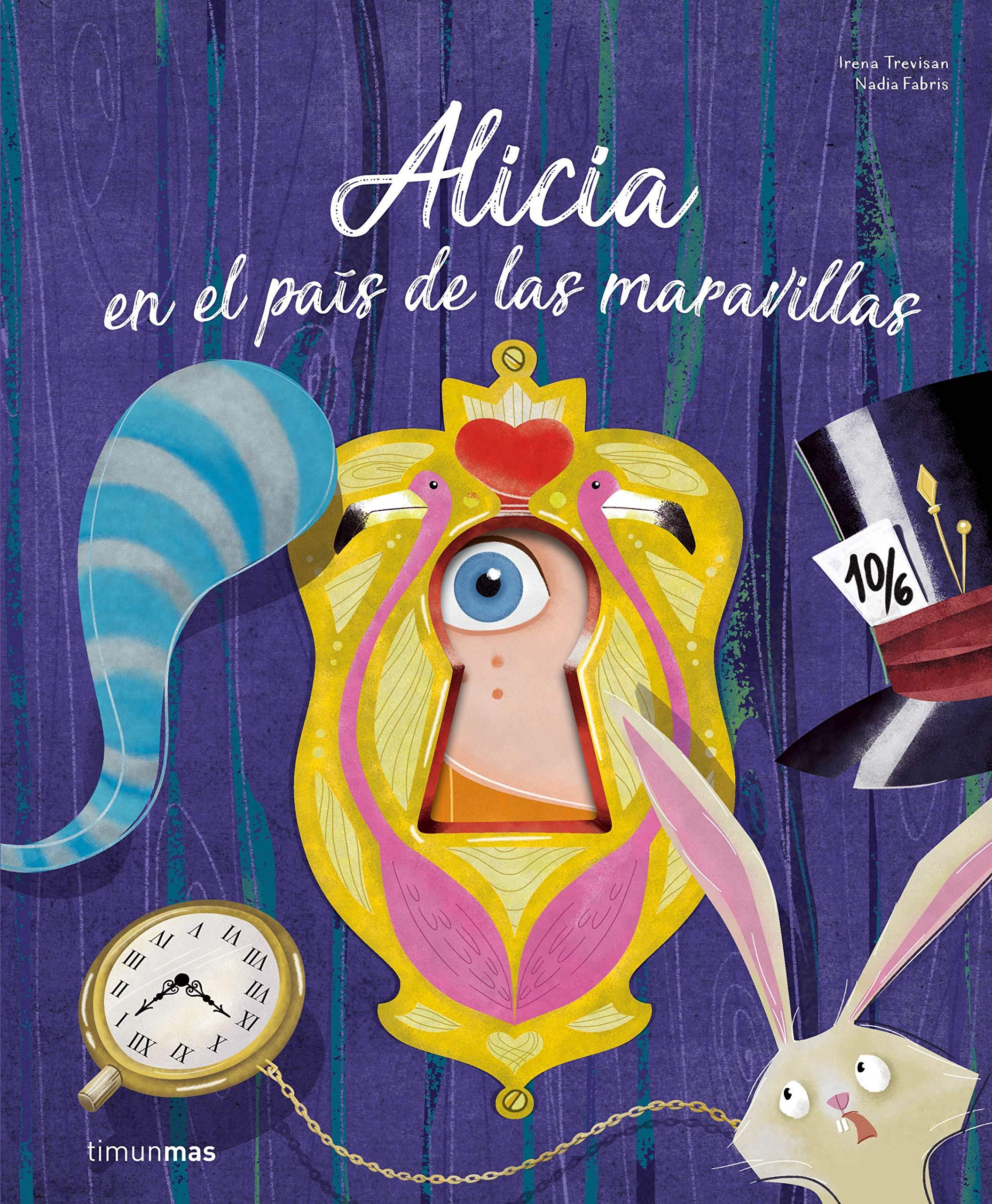 Alicia en el país de las maravillas: ¡Un libro con troqueles ...
