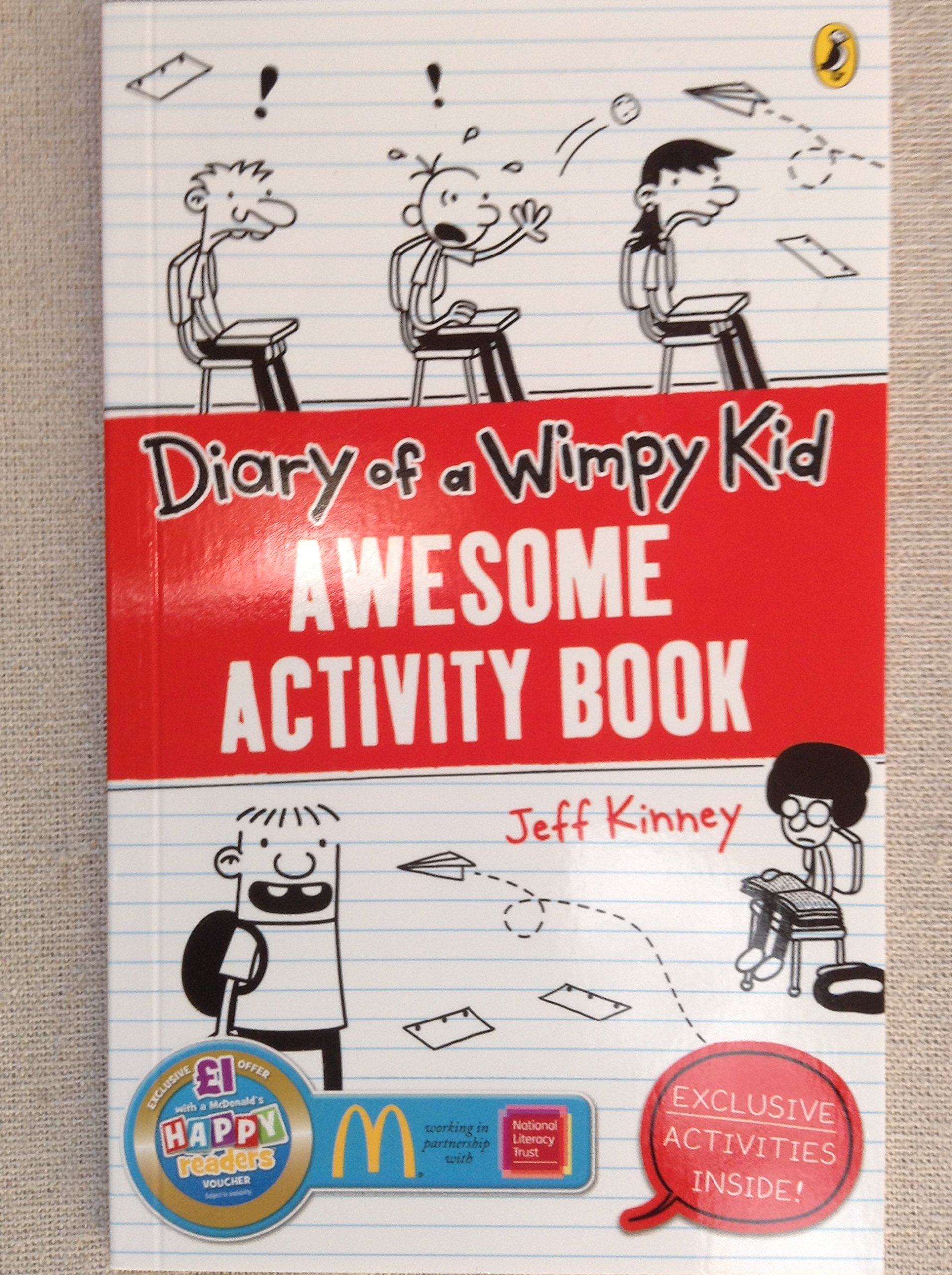 Diary of a wimpy kid awesome activity book amazon jeff diary of a wimpy kid awesome activity book amazon jeff kinney 9780141376523 books solutioingenieria Images