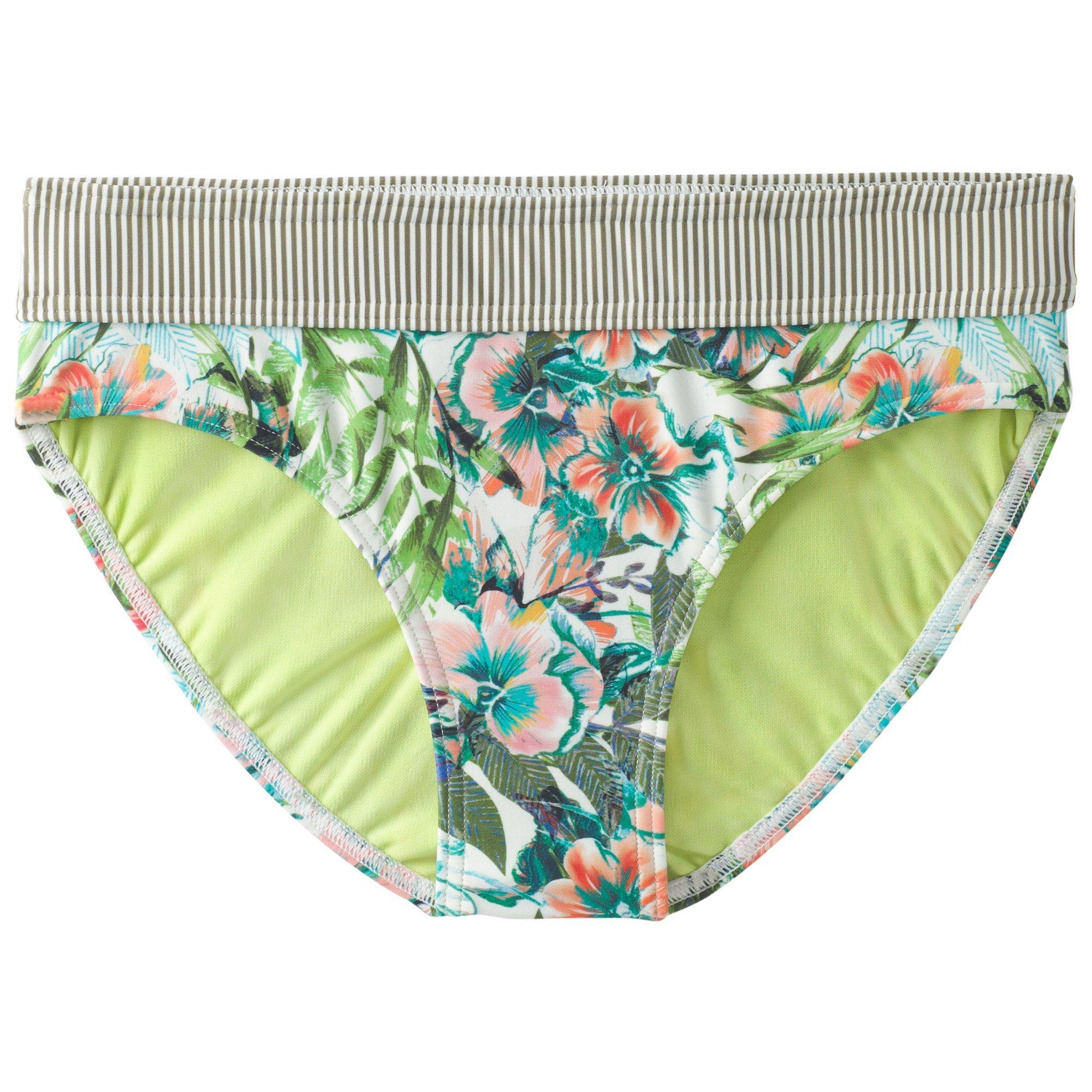 prAna Women's Ramba Bottom Athletic Shorts, X-Large, Cargo Green Bali