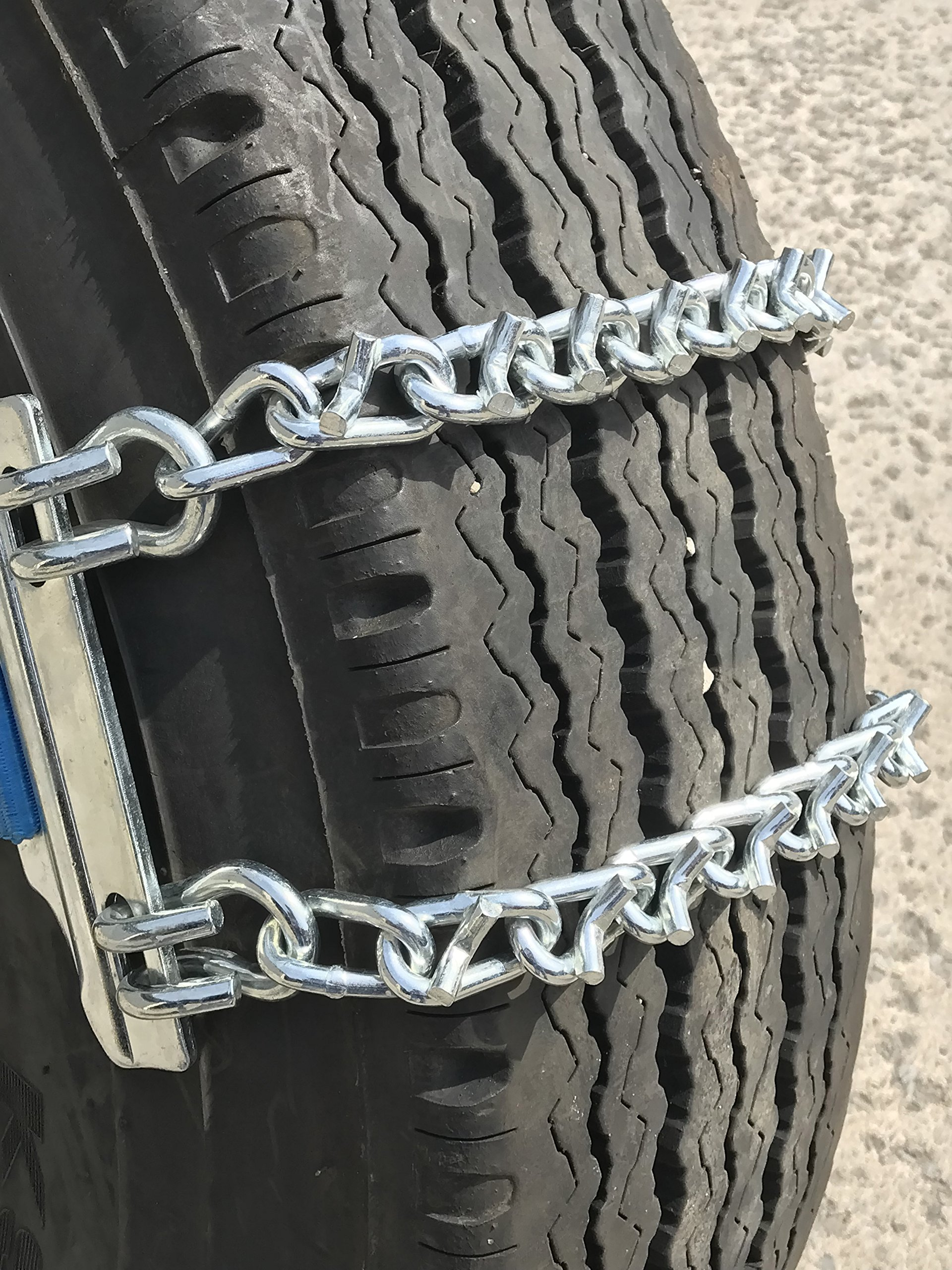 TireChain.com V-Bar Emergency Strap tire chains for Large Trucks - fits tire sizes larger than 275 mm-, priced per pair by TireChain.com (Image #1)