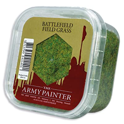 The Army Painter Battlefield Field Grass for Miniature Bases & Wargame Terrains: Static Grass 150 ml: Toys & Games