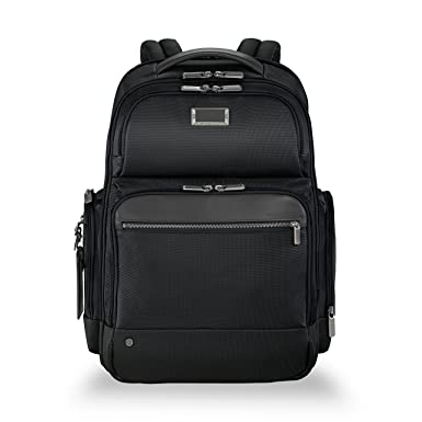 35058a1e0 Amazon.com: Briggs & Riley @work Large Cargo Laptop Backpack, Black ...