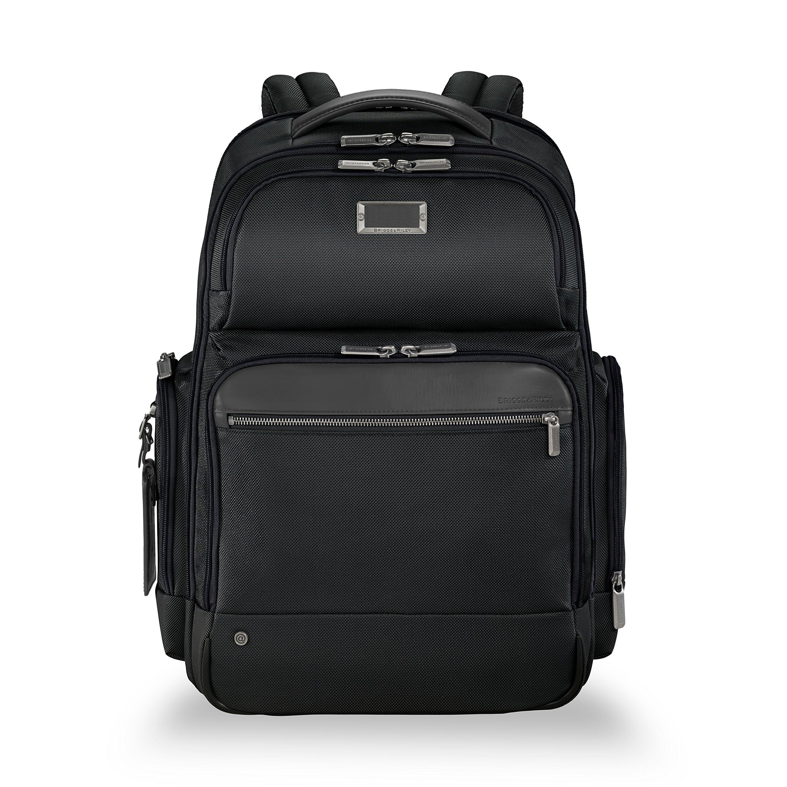 Briggs & Riley @work Large Cargo Laptop Backpack, Black