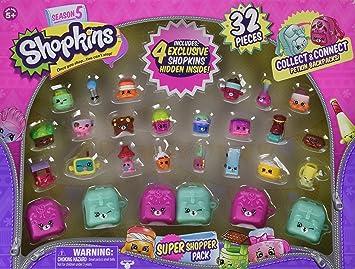 Shopkins Season 5 Super Shopper Pack Includes 4 Exclusive Hidden Inside