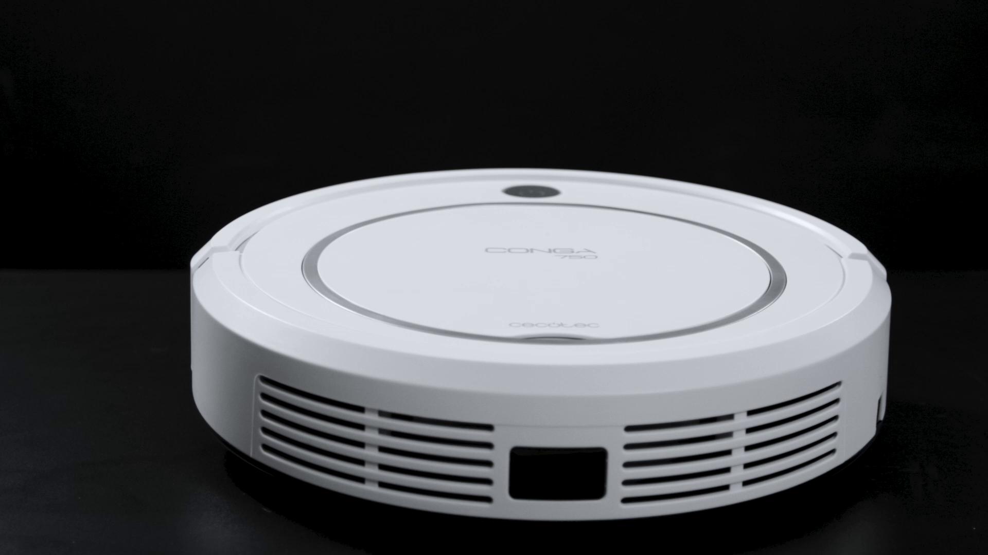 Cecotec Robot Aspirador Conga Serie 750. 800 Pa, Navegación ...