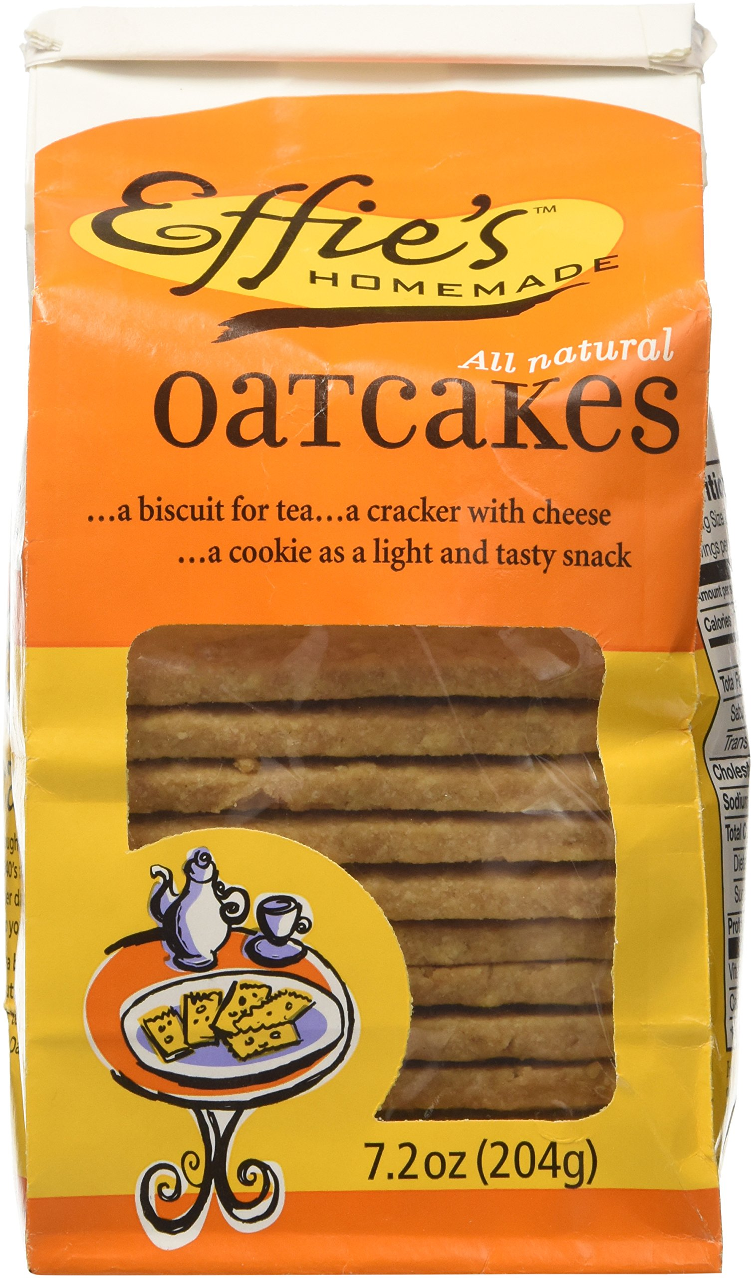 Oatcakes - Effie's Homemade (3 pack), 7.2 ounce by Effie's Homemade Corncakes