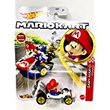 DieCast Hotwheels Mario Kart Baby Mario, B-Dasher Racer