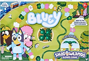 Bluey - Shadowlands Board Game - Family Game Night, Unpredictable Fun - Engaging Fun for All - Collect All 5 Cupcake Cards | 2-4 Players | for Ages 3+, Multicolor, 13011