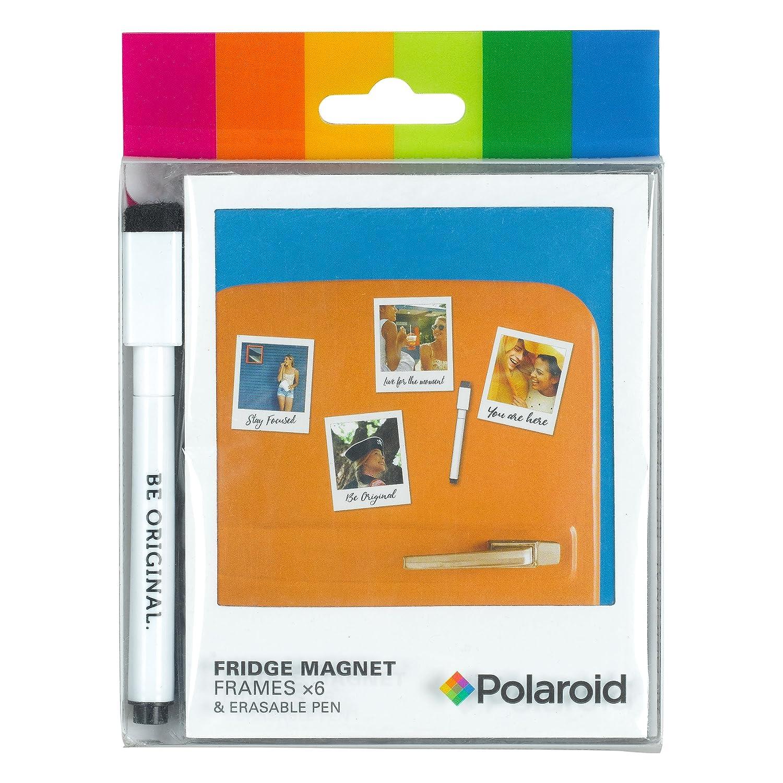Polaroid Kühlschrank Magnet Rahmen und Pen, transparent: Amazon.de ...