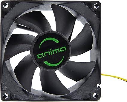 Anima AF8 - Ventilador para ordenador (1800 rpm, 0.12 A, 1.44 W ...