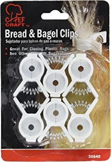 Pack of 6 Bread & Bagle Clips