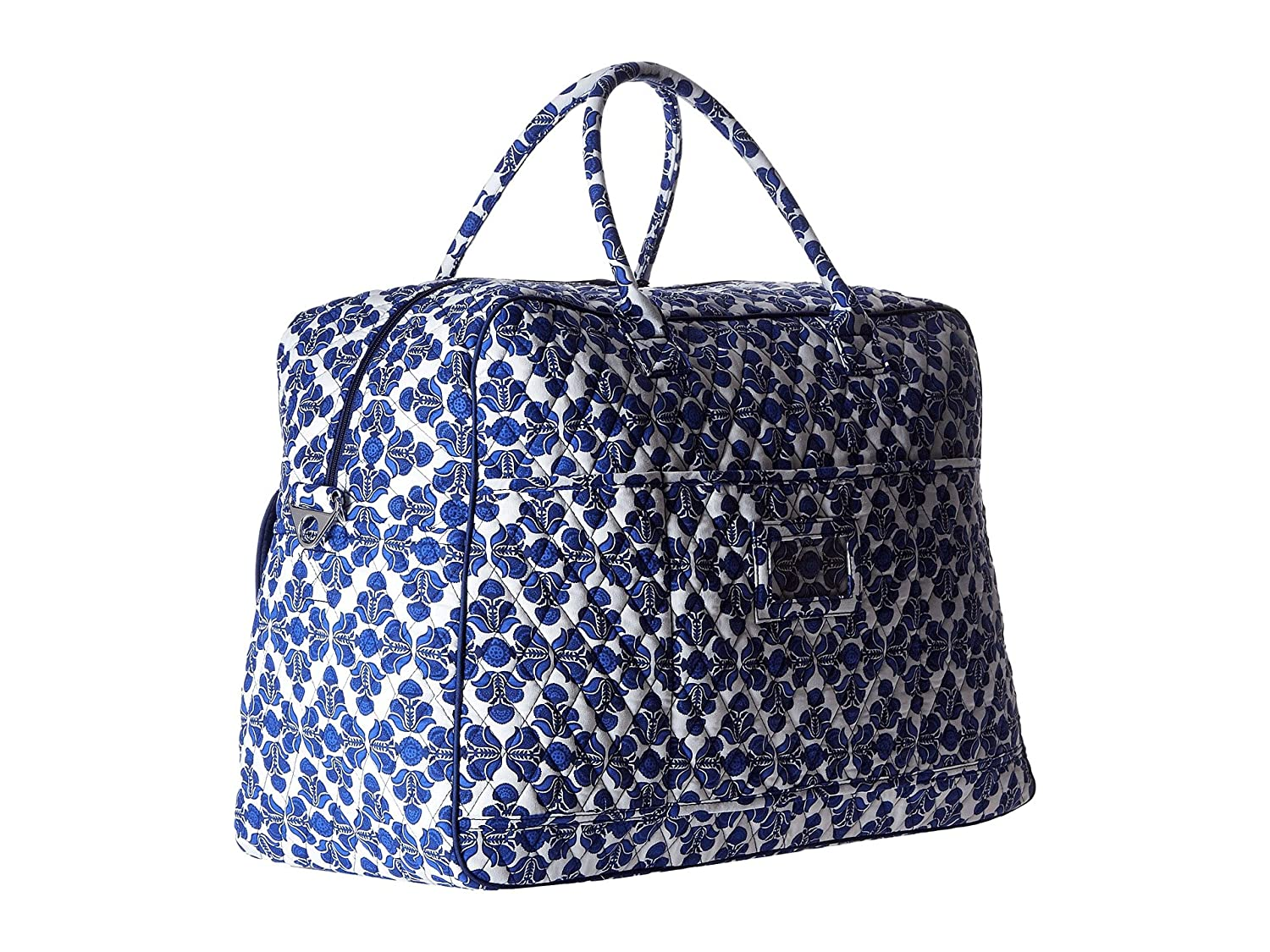 4d9a04098310 Vera Bradley Luggage Womens Grand Traveler Cobalt Tile Travel Tote   Amazon.co.uk  Clothing