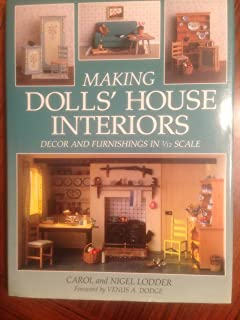 The new dolls house do it yourself book in 112 and 116 scale making dolls house interiors decor and furnishings in 112 scale solutioingenieria Image collections