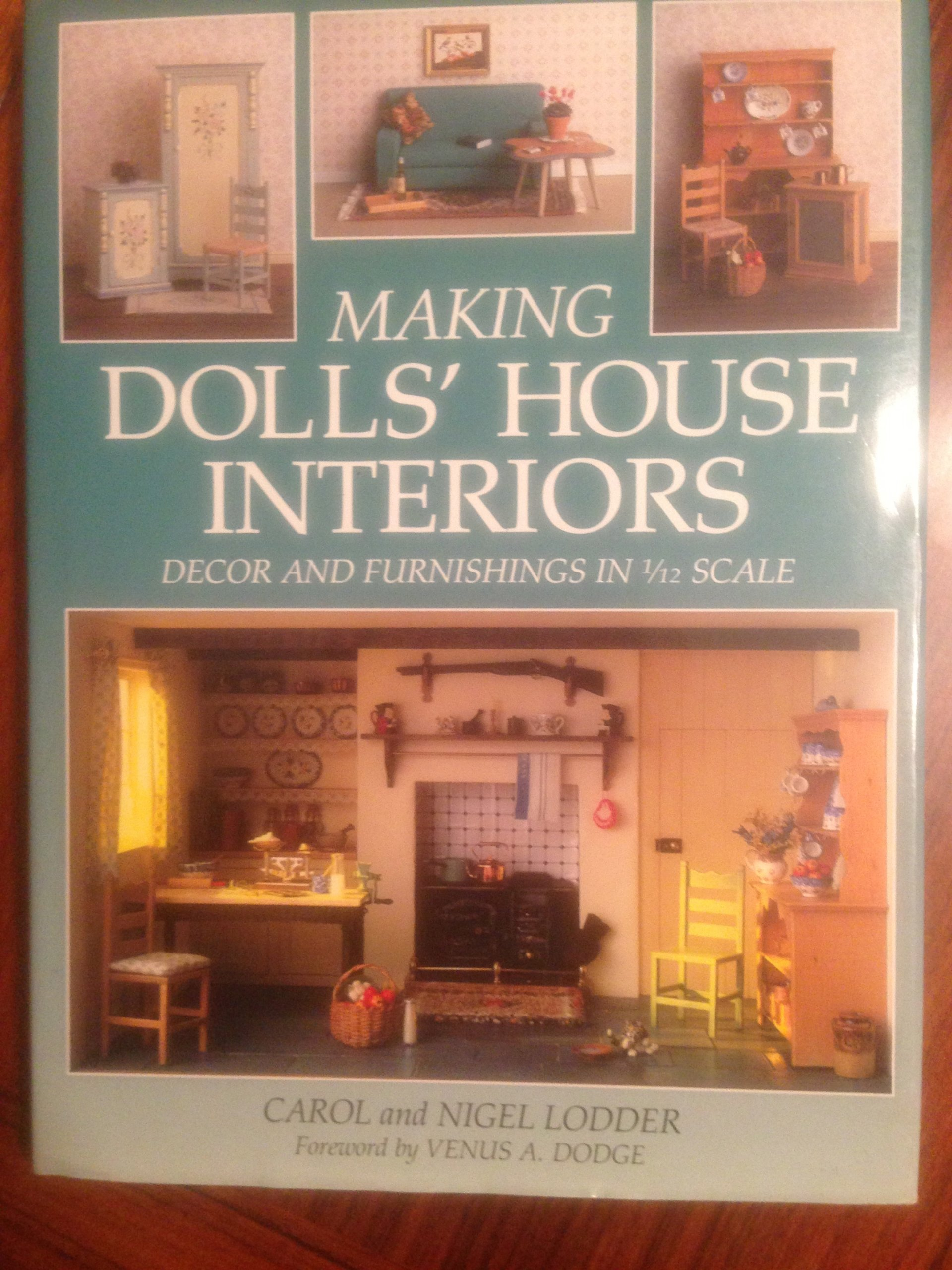 Making Dolls\' House Interiors: Decor and Furnishings in 1/12 Scale ...