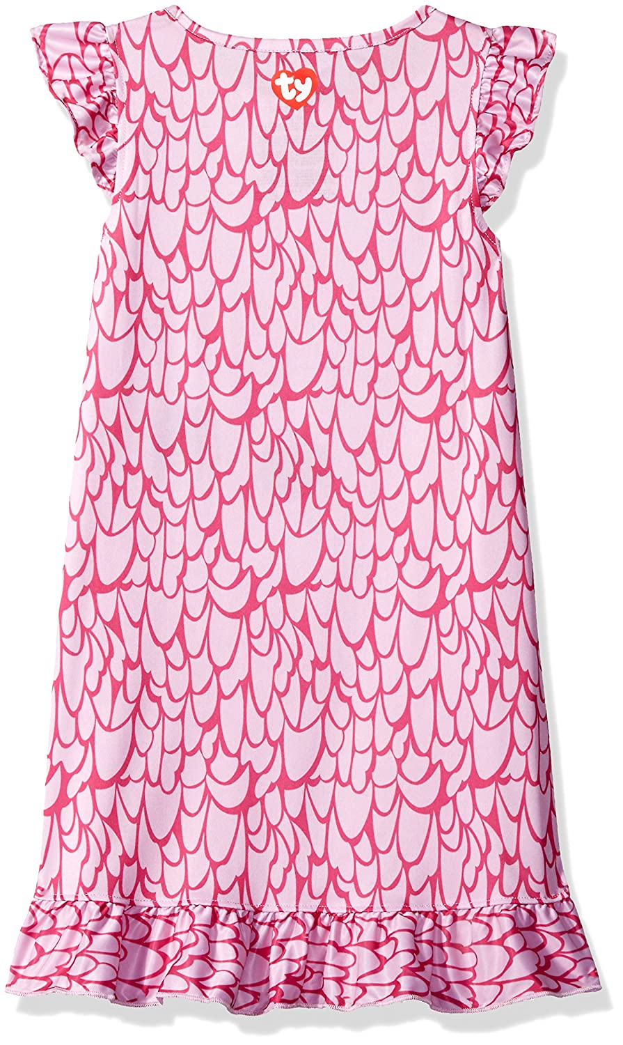 INTIMO Girls Ty Beanie Boo Ruffle Nightgown