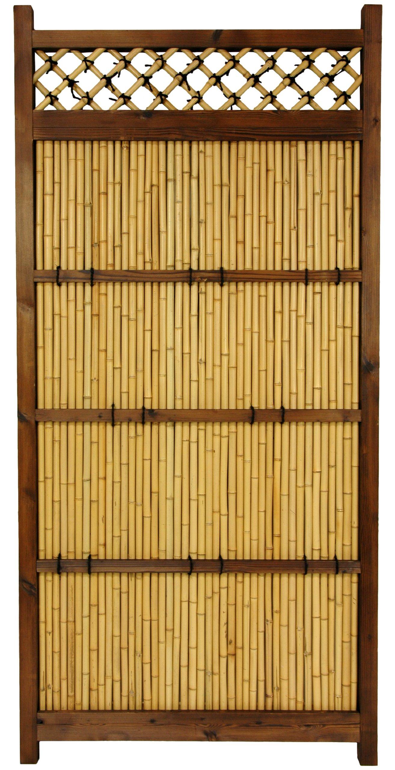 Oriental Furniture 6 ft. x 3 ft. Japanese Bamboo Zen Garden Fence by ORIENTAL FURNITURE