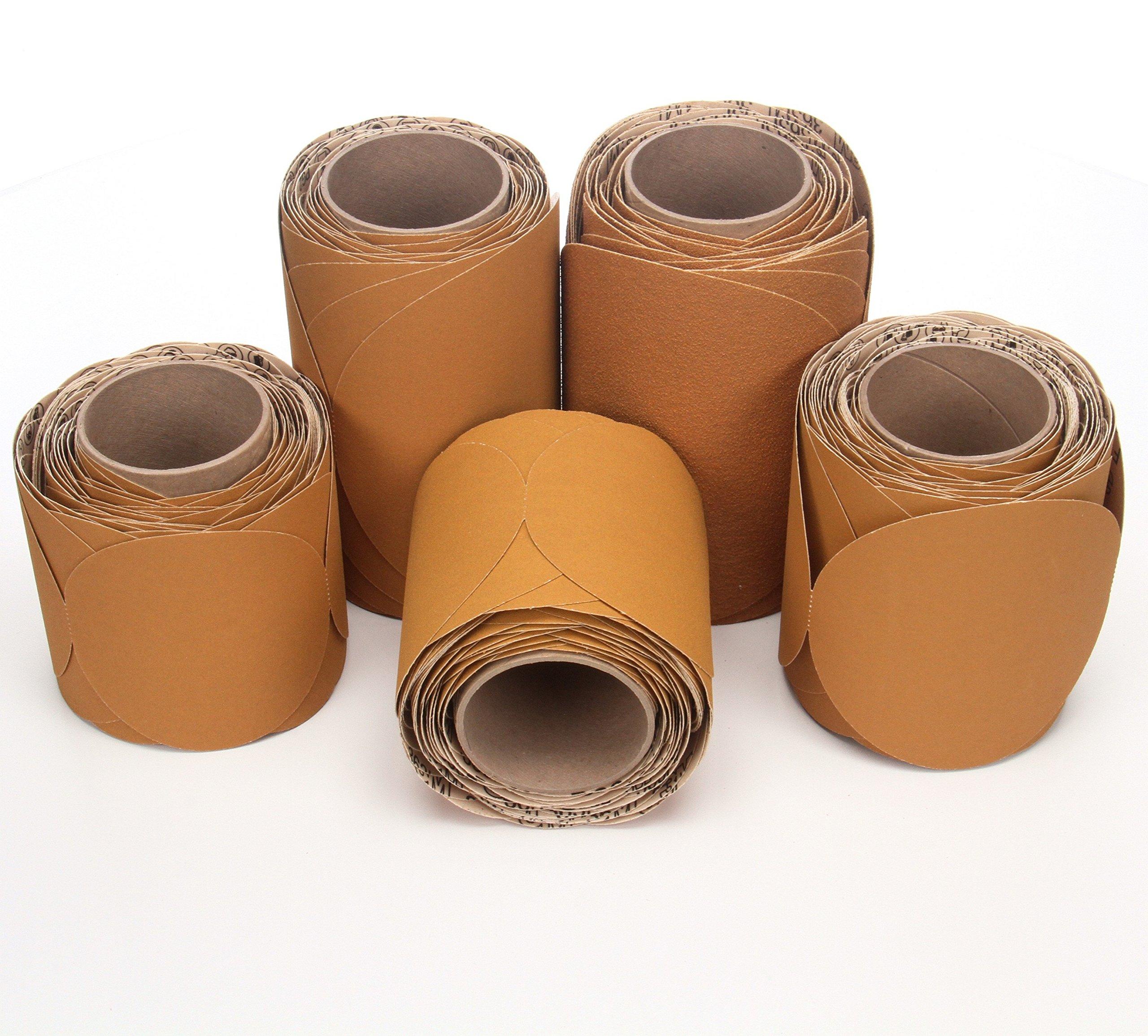 3M Stikit Paper Disc Roll 363I, PSA Attachment, Aluminum Oxide, 8'' Diameter, P150 Grit (Roll of 50) by Cubitron (Image #2)