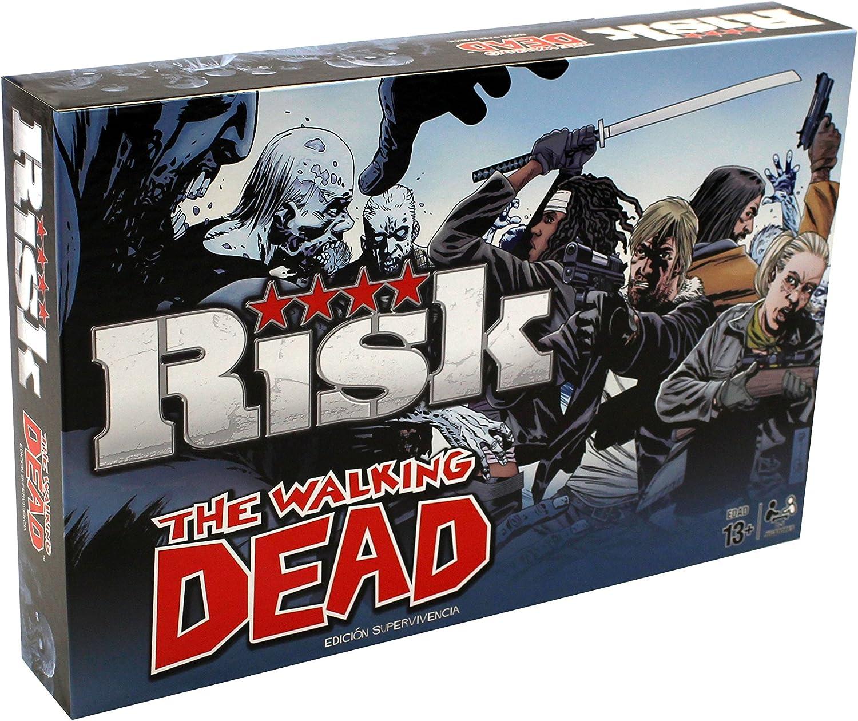Hasbro Risk The Walking Dead, Miscelanea (81342): Amazon.es ...