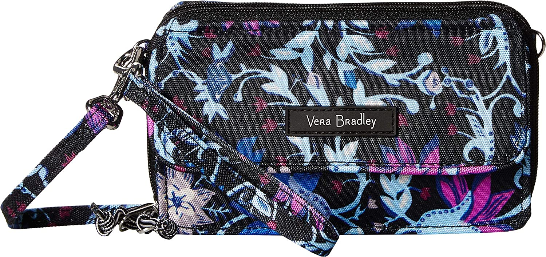 8c2d708398 Vera Bradley Women s Lighten Up RFID All-In-One Crossbody Bramble Vines One  Size  Handbags  Amazon.com