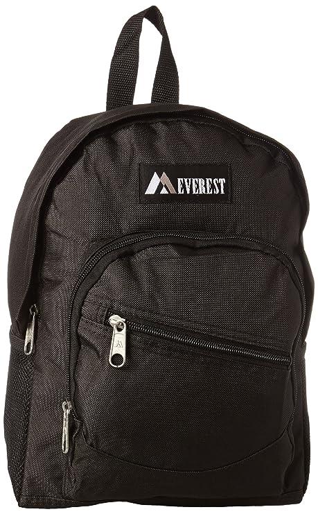 Everest Junior Slant Backpack, Black, One