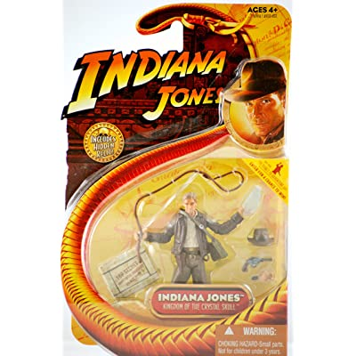 Indiana Jones Kingdom of the Crystal Skull 3-3/4 Inch Scale Action Figure: Toys & Games
