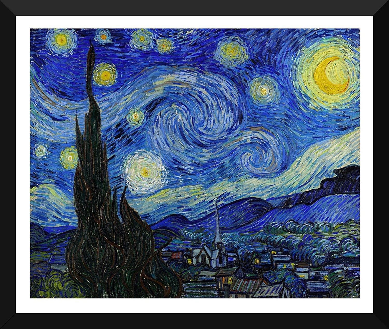 ART MAGNET MASTERS STARRY NIGHT VAN GOGH