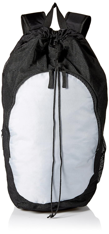 Asics 2.0ギアバッグ B074CL7ZNZ One Size Black/Athletic Grey Black/Athletic Grey One Size