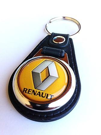 Llavero Renault metal y piel con modena carro supermercado ...