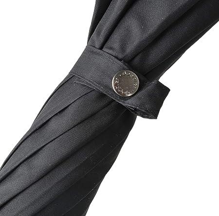 Cadre Robuste Parapluie Doppler Long Carbonsteel Long Automatic Noir Grand auvent