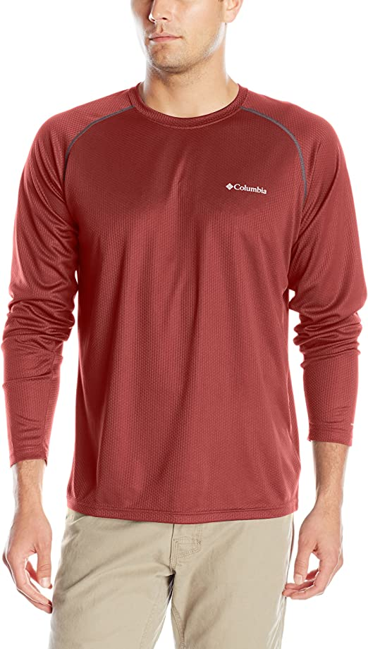 Columbia Sportswear Mens Peak Racer Long Sleeve Shirt