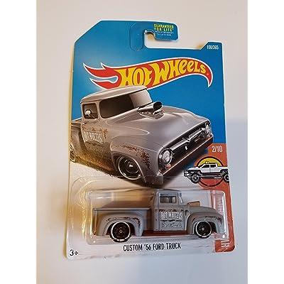 Hot Wheels 2020 HW Hot Trucks Custom '56 Ford Truck 108/365, Gray: Toys & Games