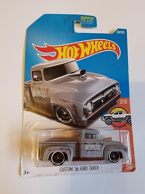 Amazon Com Hot Wheels 2017 Hw Hot Trucks Custom 56 Ford Truck 108