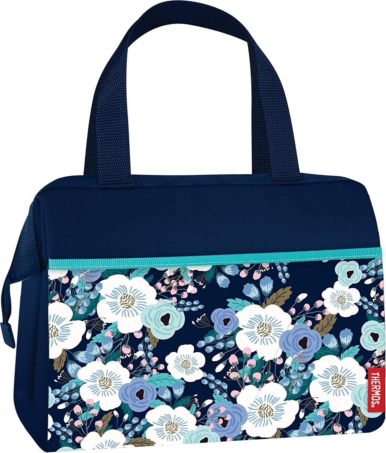 Thermos C520409004 Raya 9 Can Duffle Drink Cooler Bag Periwinkle Floral
