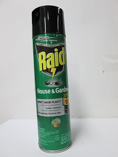 Amazon Com Raid House And Garden Bug Killer Indoor And Outdoor