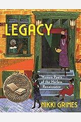Legacy: Women Poets of the Harlem Renaissance Kindle Edition
