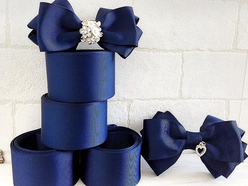 苛性バナー毎週Syndecho ラインストーン リボン 手芸用品 DIY 誕生日パーティー、結婚式、衣装飾り 3.8cmx10ヤード 8列 (シルバー)