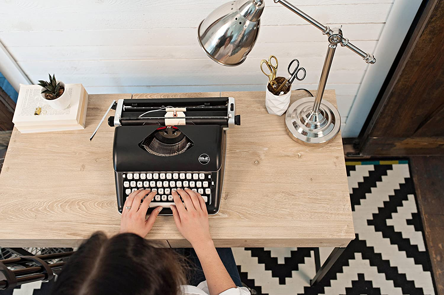 Typecast Retro Typewriter by We R Memory Keepers White
