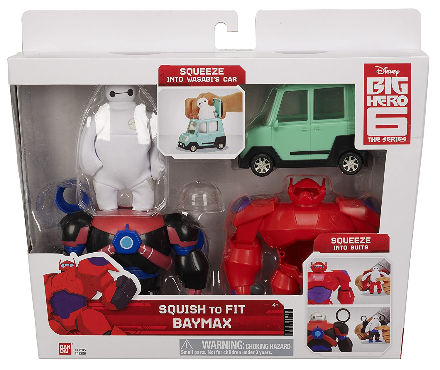 2e36d2fd93 Big Hero 6 41285 Baymax and Car Toy  Amazon.co.uk  Toys   Games